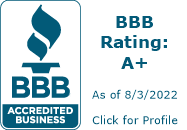 Ja-Mar Roofing & Sheet Metal a+ accredited business by BBB